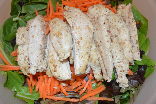 Almond Herb Marinade for Chicken Nuts Over Fish Topping Recipe