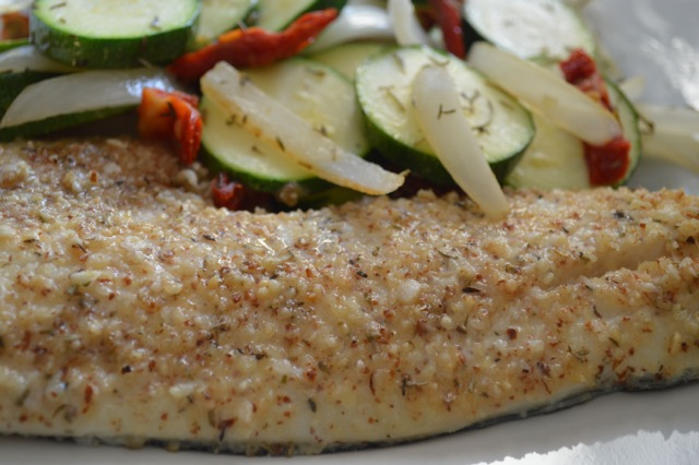 Almond Topped Cod Nuts Over Fish Topping Recipe